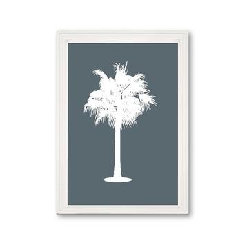 Fotolijst 2 hout wit 21x30 cm
