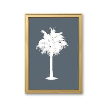 Fotolijst 2 hout goud 21x30 cm