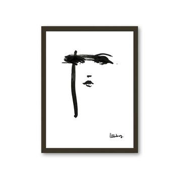 Fotolijst 3 hout zwart 30x40 cm