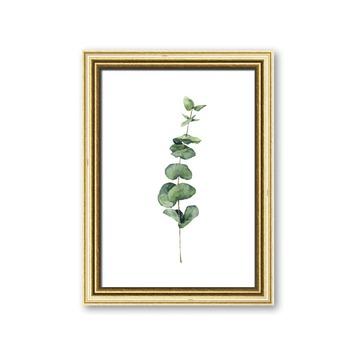Fotolijst 6 hout goud 10x15 cm