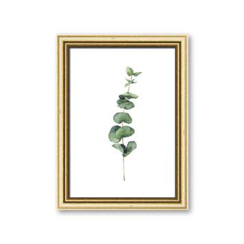 Fotolijst 6 hout goud 13x18 cm
