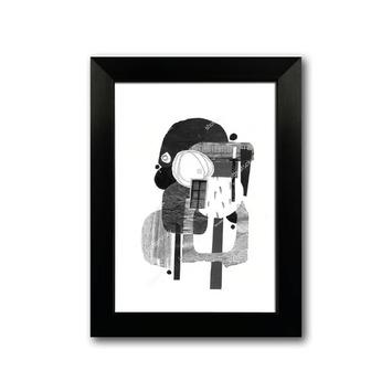 Fotolijst 7 kunststof zwart 13x18 cm