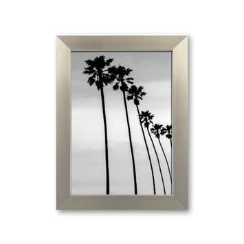 Fotolijst 7 kunststof zilver 13x18 cm