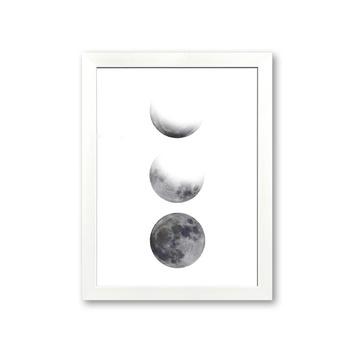 Fotolijst 7 kunststof wit 21x30 cm