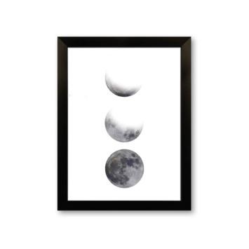 Fotolijst 7 kunststof zwart 21x30 cm