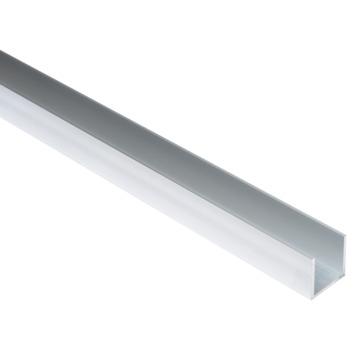 U-Profiel aluminium 25x25x25x2mm 100cm