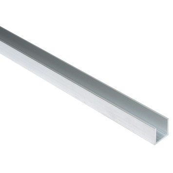 U-Profiel aluminium 20x20x20x2mm 200cm