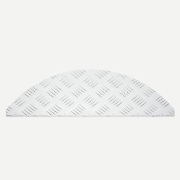 Trapmat aluminium traanplaat 15 stuks