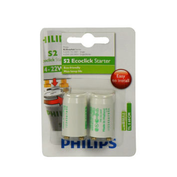 Philips Ecoclick Starters S2 4-22 W 2 stuks