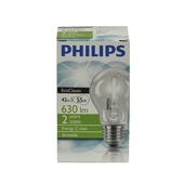 Philips EcoClassic halogeenlamp peer helder E27 42W