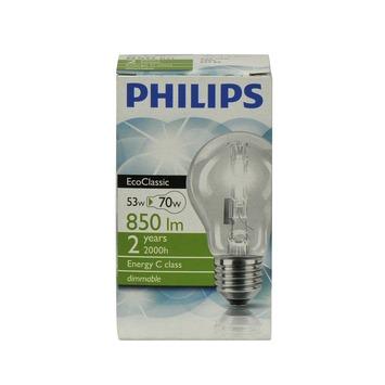 Philips EcoClassic halogeenlamp peer helder E27 53W