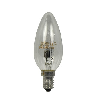Philips EcoClassic halogeenlamp kaars helder E14 28W