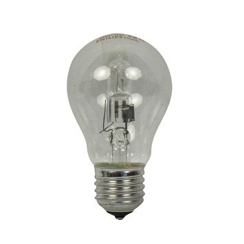 Philips EcoClassic halogeenlamp peer helder E27 28W