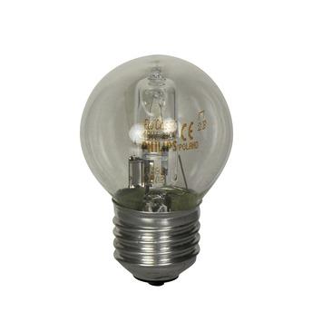 Philips EcoClassic halogeenlamp kogel helder E27 18W