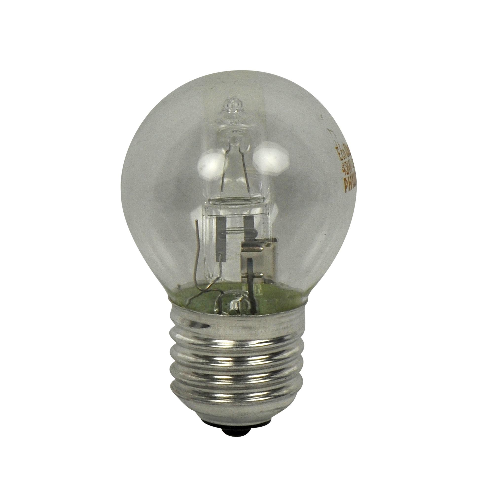 philips ecoclassic halogeenlamp kogel helder e27 42w alle lampen lampen verlichting karwei. Black Bedroom Furniture Sets. Home Design Ideas