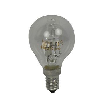 Philips EcoClassic halogeenlamp kogel helder E14 18W