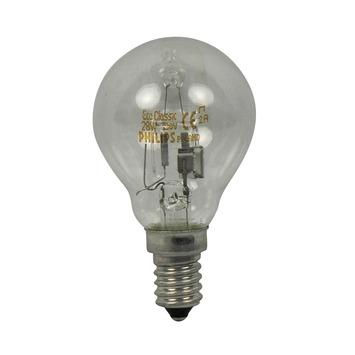 Philips EcoClassic halogeenlamp kogel helder E14 28W