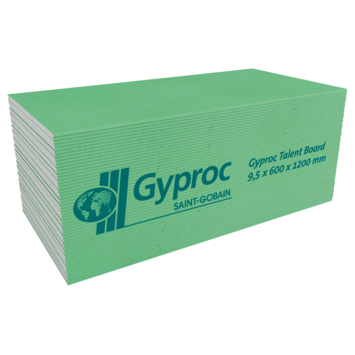 Gyproc badkamer gipsplaat 60x120 cm dikte 0,95 cm kopen? gipsplaten ...
