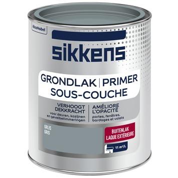 Sikkens grondlak zijdeglans Grijs 750 ml