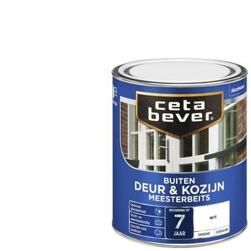 Cetabever meesterbeits deur & kozijn dekkend wit zijdeglans 750 ml