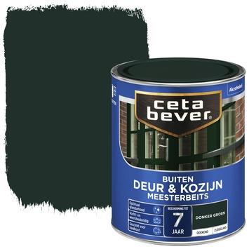 Cetabever meesterbeits deur & kozijn dekkend donkergroen zijdeglans 750 ml