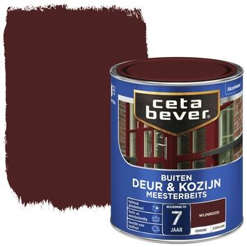Cetabever meesterbeits deur & kozijn dekkend wijnrood zijdeglans 750 ml