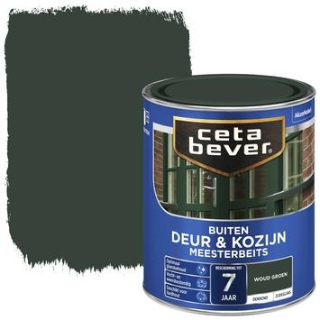 Cetabever meesterbeits deur & kozijn dekkend woudgroen zijdeglans 750 ml
