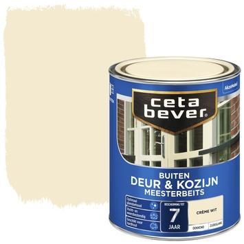 Cetabever meesterbeits deur & kozijn dekkend crème wit zijdeglans 750 ml