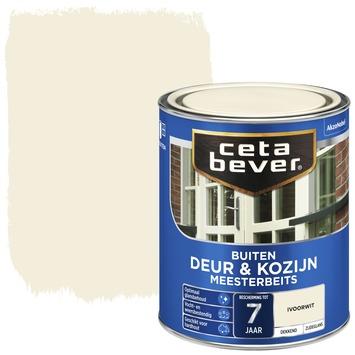 Cetabever meesterbeits deur & kozijn dekkend ivoorwit zijdeglans 750 ml