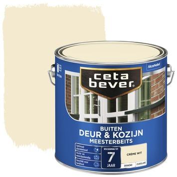 Cetabever meesterbeits deur & kozijn dekkend crème wit zijdeglans 2,5 l