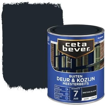 Cetabever meesterbeits deur & kozijn dekkend bretons blauw zijdeglans 750 ml