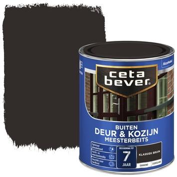 Cetabever meesterbeits deur & kozijn dekkend klassiek bruin zijdeglans 750 ml