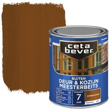 Cetabever meesterbeits deur & kozijn transparant donker eiken glans zijdeglans 750 ml