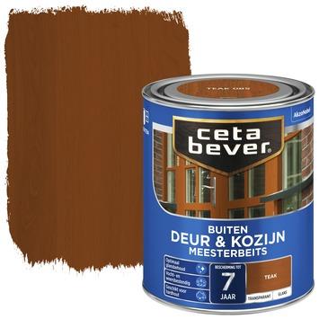 Cetabever meesterbeits deur & kozijn transparant teak glans 750 ml