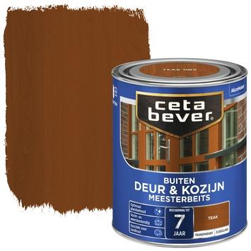 Cetabever meesterbeits deur & kozijn transparant teak zijdeglans 750 ml
