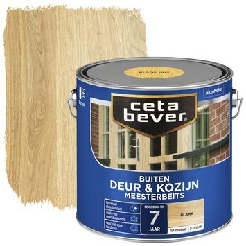 Cetabever meesterbeits deur & kozijn transparant blank zijdeglans 2,5 l