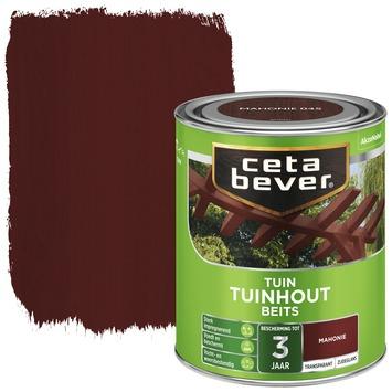 Cetabever tuinhoutbeits transparant mahonie zijdeglans 750 ml