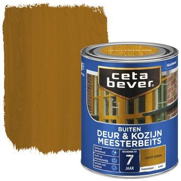 Cetabever meesterbeits deur & kozijn transparant licht eiken glans 750 ml