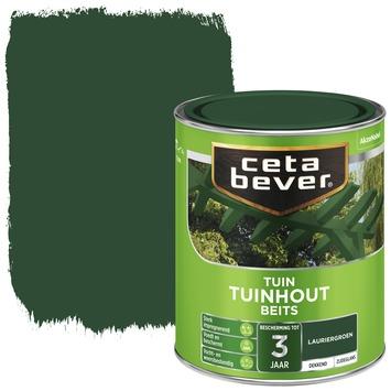 Cetabever tuinhoutbeits dekkend lauriergroen zijdeglans 750 ml