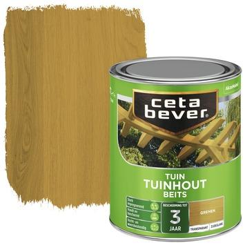 Cetabever tuinhoutbeits transparant grenen zijdeglans 750 ml