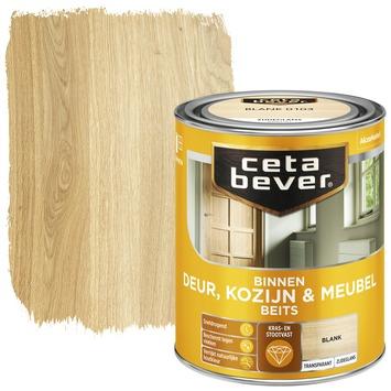 Cetabever binnenbeits deur, kozijn en meubel transparant blank zijdeglans 750 ml