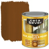 Cetabever binnenbeits deur, kozijn en meubel transparant donker eiken zijdeglans 750 ml