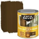 Cetabever binnenbeits deur, kozijn en meubel transparant noten zijdeglans 750 ml