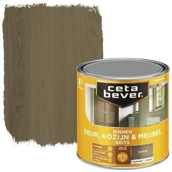 Cetabever binnenbeits deur, kozijn en meubel transparant schors zijdeglans 250 ml