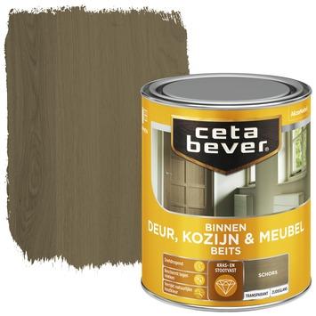 Cetabever binnenbeits deur, kozijn en meubel transparant schors zijdeglans 750 ml