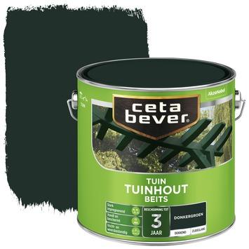 Cetabever tuinhoutbeits dekkend donkergroen zijdeglans 2,5 l