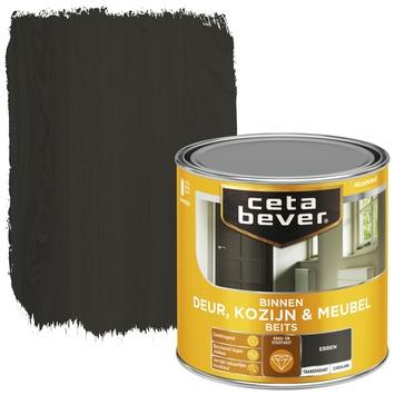 Cetabever binnenbeits deur, kozijn en meubel transparant ebben zijdeglans 250 ml
