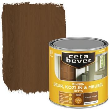 Cetabever binnenbeits deur, kozijn en meubel transparant donker kersen zijdeglans 250 ml