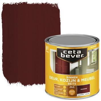 Cetabever binnenbeits deur, kozijn en meubel transparant mahonie zijdeglans 250 ml
