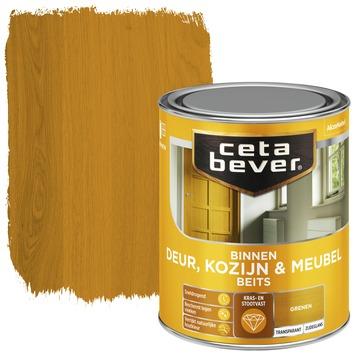 Cetabever binnenbeits deur, kozijn en meubel transparant grenen zijdeglans 750 ml